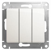 Schneider Electric Glossa с/у без индикации 3кл. белый