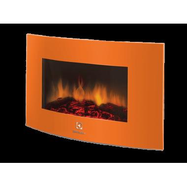 Электрокамин Electrolux EFP/W 1200URLS оранжевый