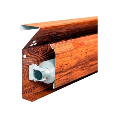 Отопительная система теплый плинтус «Орион», в комплекте (дерево)