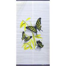 Бархатный сезон Бабочки Жёлтые на Белом
