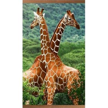 Настенный пленочный обогреватель Домашний очаг Жирафы