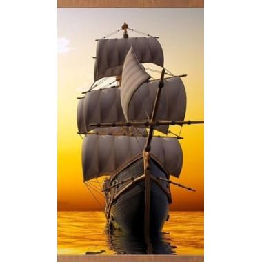 Настенный пленочный обогреватель Домашний очаг Корабль