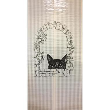 Настенный пленочный обогреватель Бархатный сезон Кот в окне