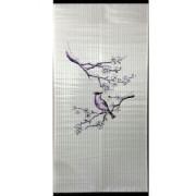 Бархатный сезон Птичка на ветке Сакуры