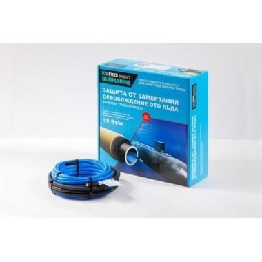 Саморегулирующий греющий кабель Теплый пол №1 Ice Free S-15 (1 метр)