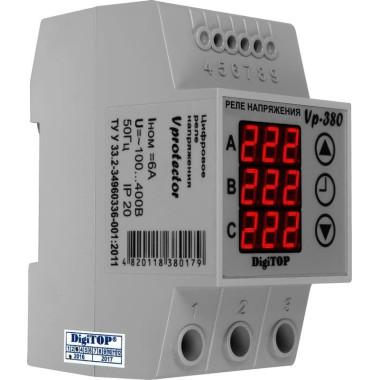 Многофункциональное реле напряжения DigiTOP Vp-380 для трехфазной нагрузки
